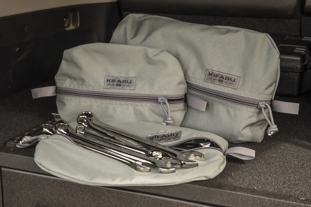 Kifaru Overland Gear Pouches - Many Sizes Available