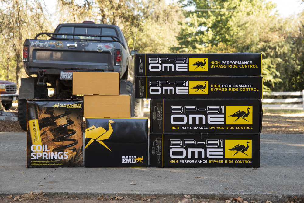 OME (Old Man Emu) BP-51 Suspension 5th Gen 4Runner (KDSS)