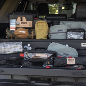 Overland Gear Storage Bags, Vehicle Organizers & MOLLE Pouches