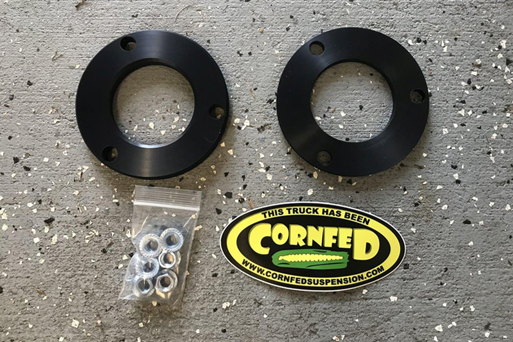 Cornfed Top Spacers:A Quick Fix For Your 5th Gen 4Runner's Lean and Level Issues