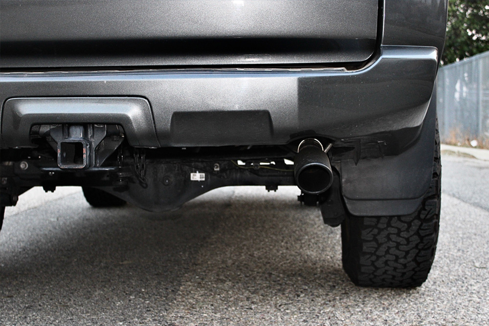 Flowmaster – FlowFX 409 SS Cat-Back Exhaust System, Single Rear Exit Install For the 5th Gen 4Runner