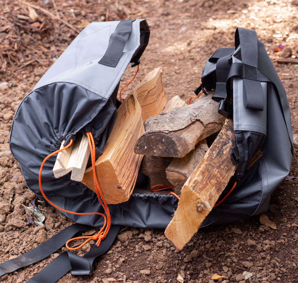 Introducing the High Road Adventure's WoodGaiter For Packing Wood Easy and Clean in the 5th Gen 4Runner