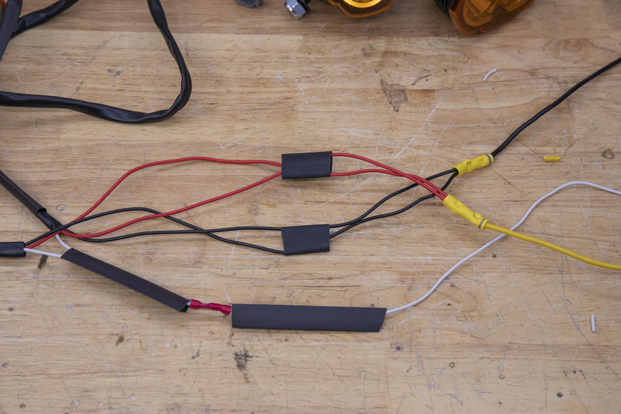 Wiring Harness Leads X 3
