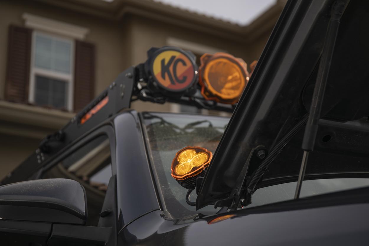 Testing Lights - KC FLEX ERA 3 Ditch Lights