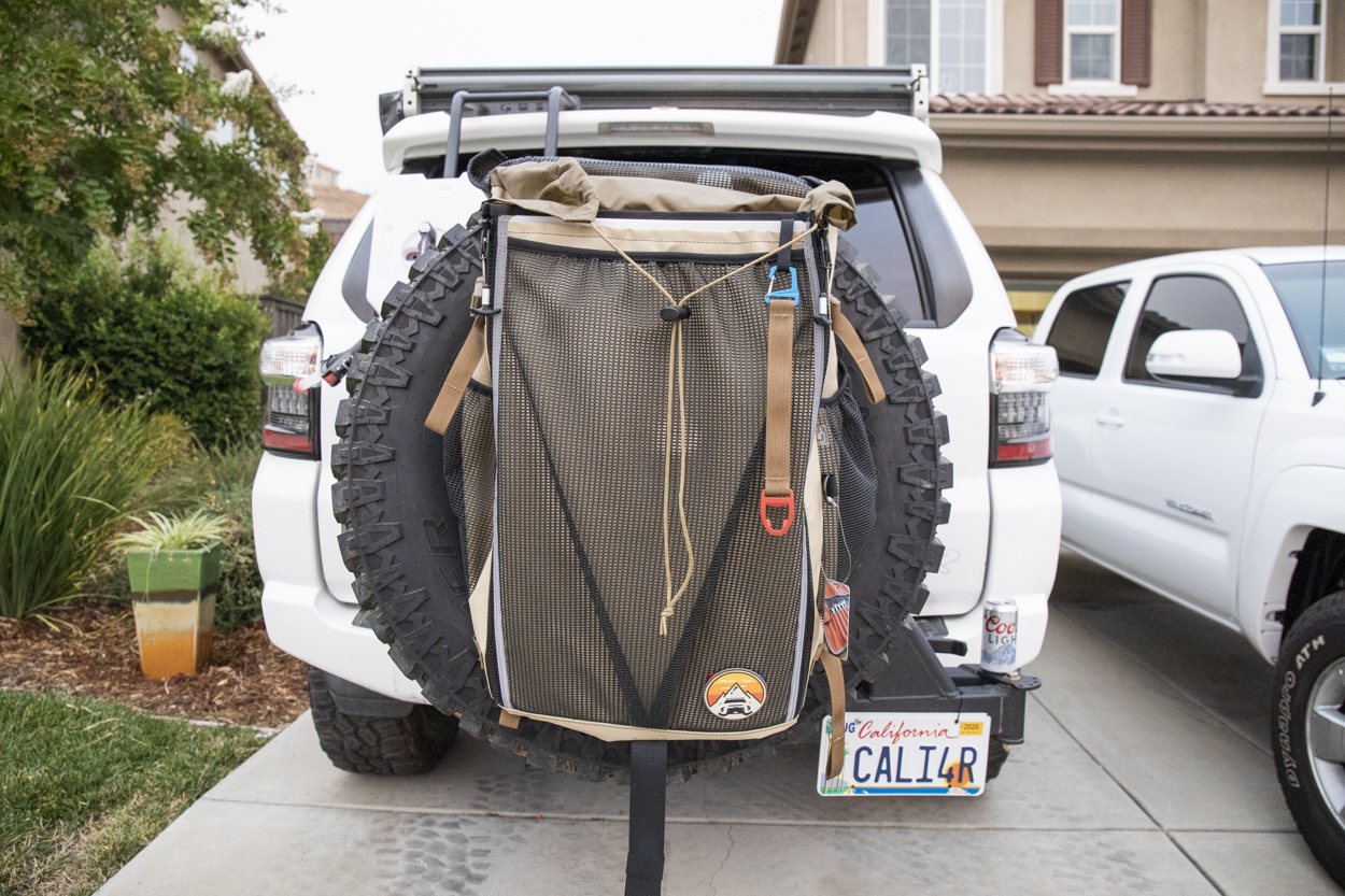 High Quality Spare Tire Storage Bag for Overlanding & Off-Roading