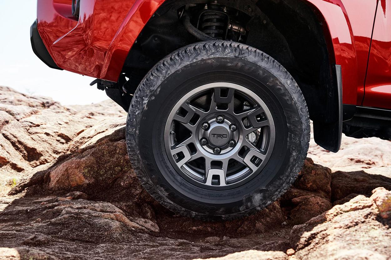 TRD Pro Wheels Matte Grey