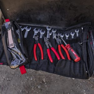 Wrench Roll inside Pangolin Tool Roll