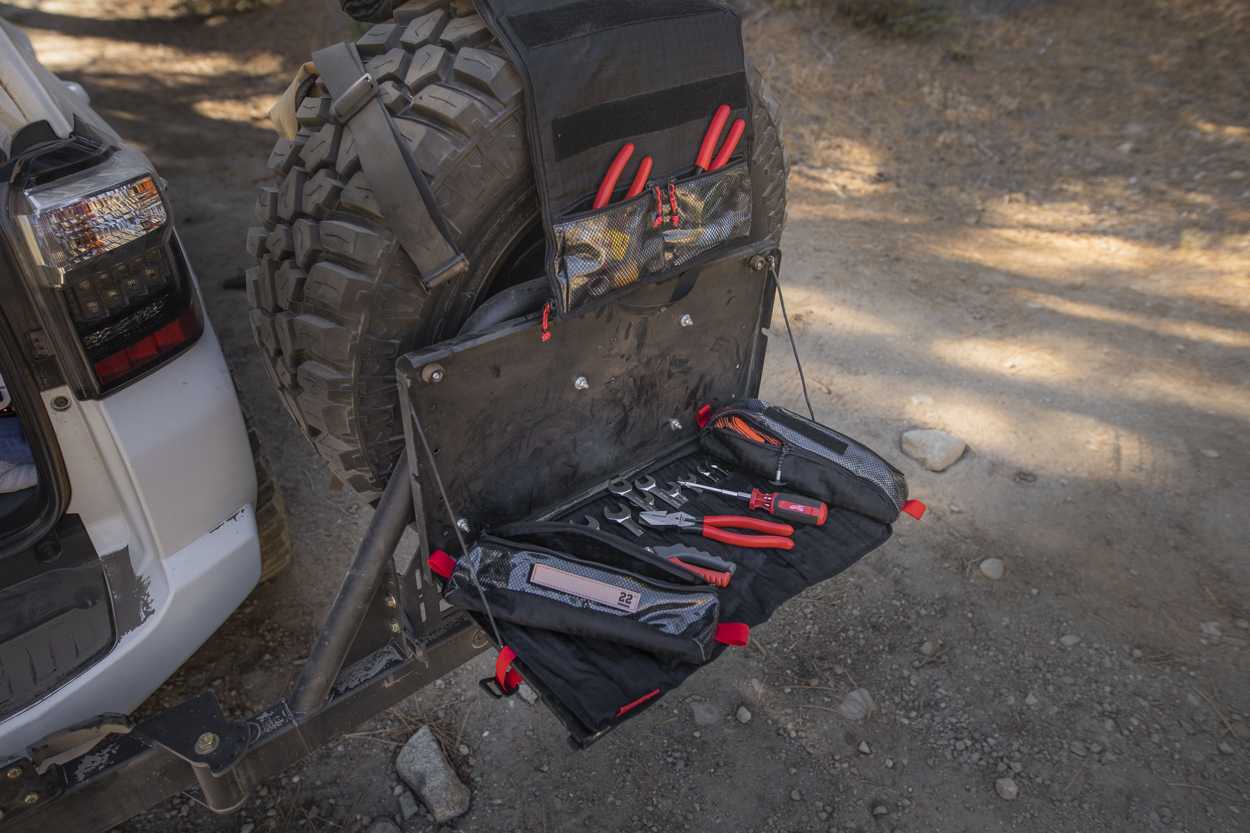 Overland Gear Tool Bag, and Wrench Roll