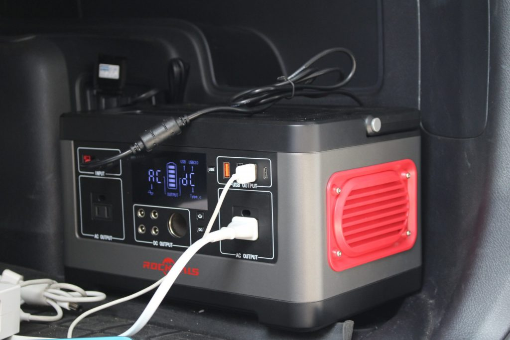 RockPals 500w Power Station Setup, Testing and Review For the 5th Gen 4Runner