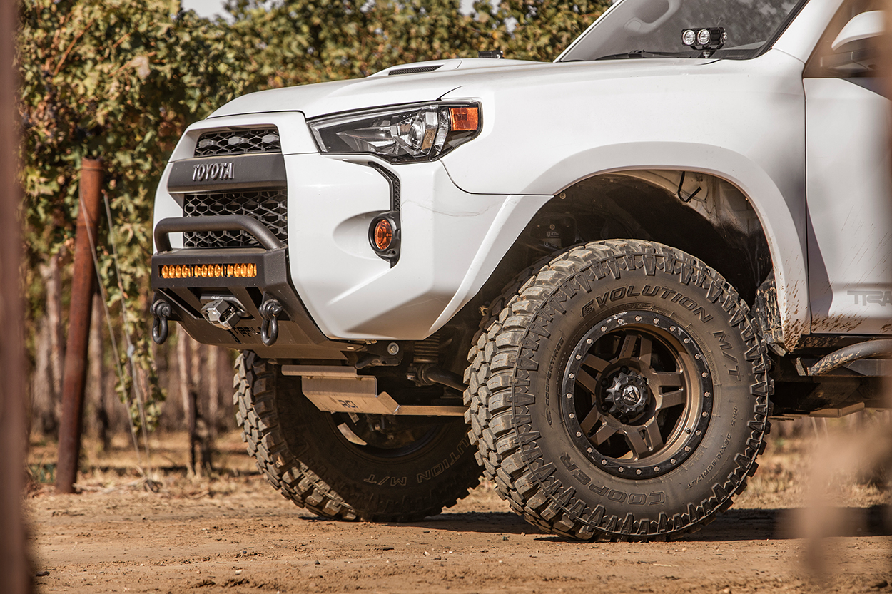 """Icon Stage 2 Lift Kit with 35"""" Tires on 5th Gen 4Runner"""
