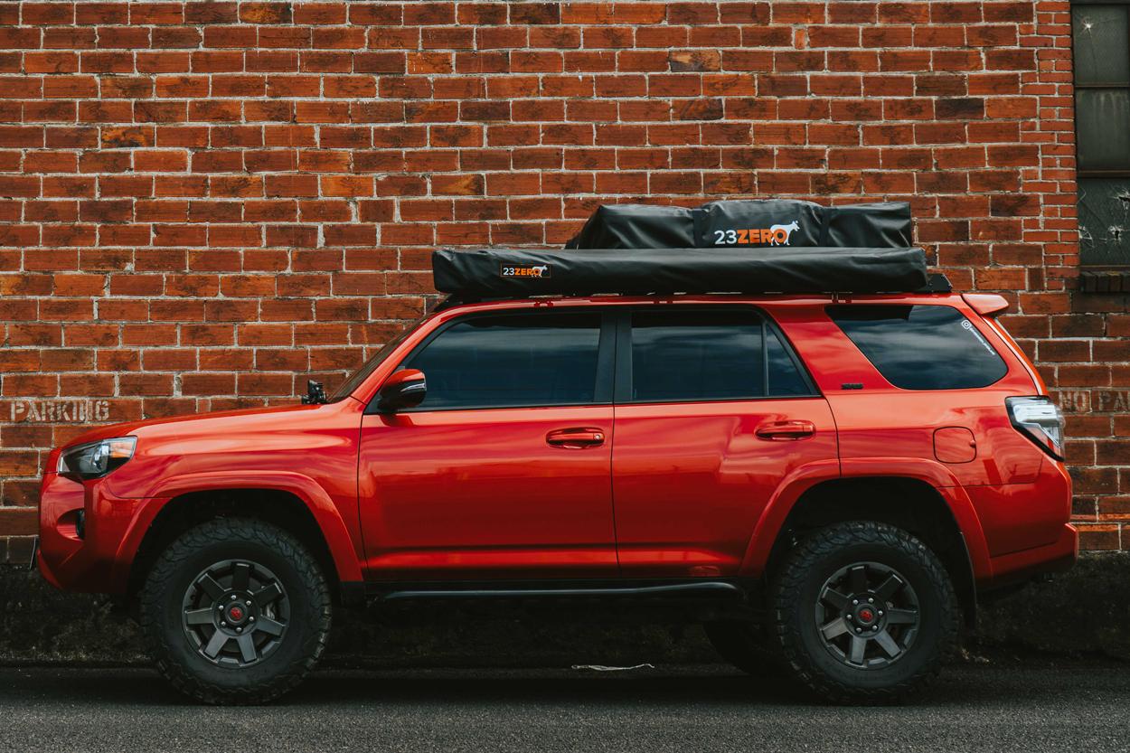 Red Lifted 5th Gen 4Runner - Leveling Kit & Lift Kit Overland Build