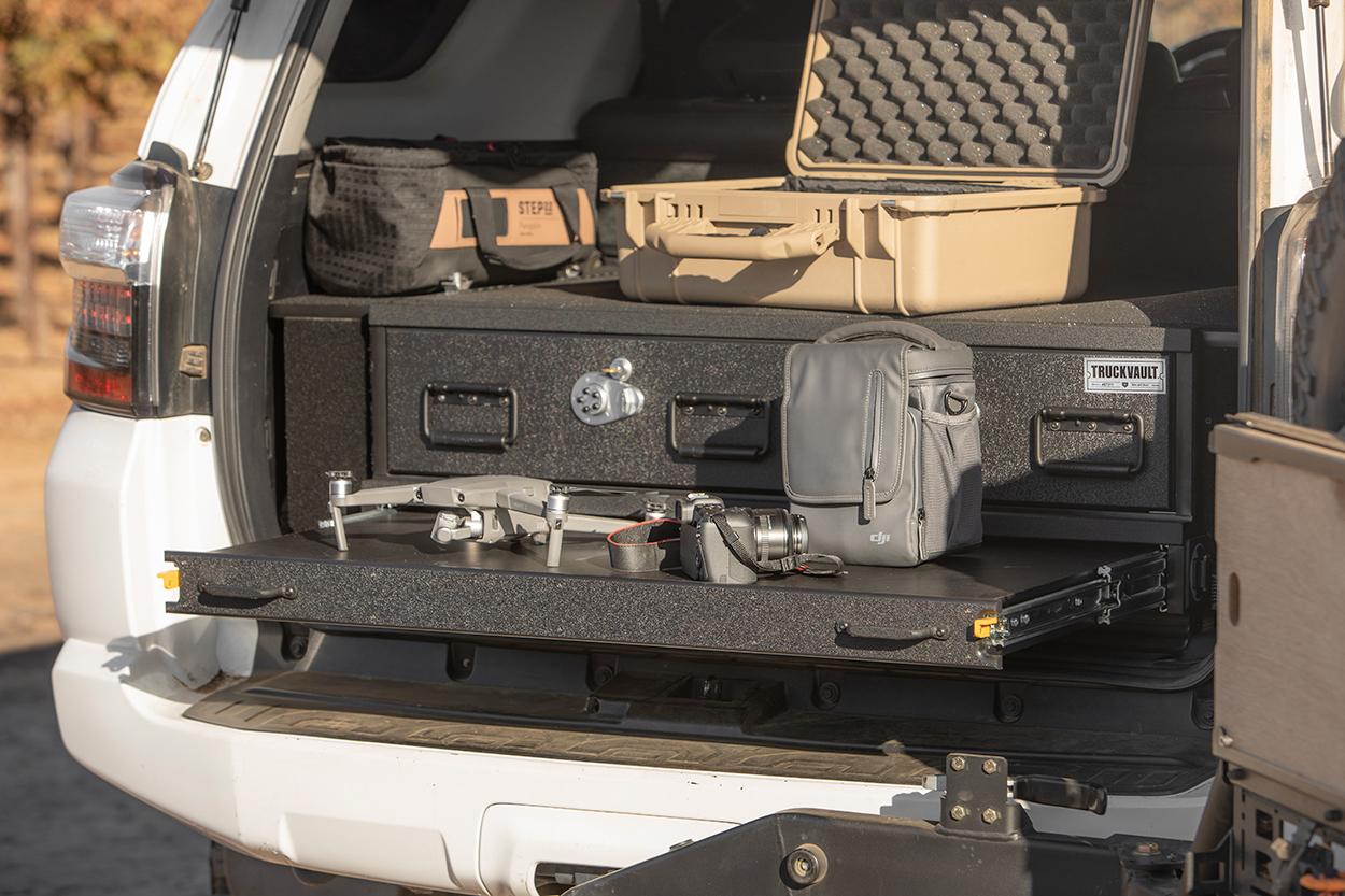 TruckVault Overland Drawer System for the 5th Gen 4Runner
