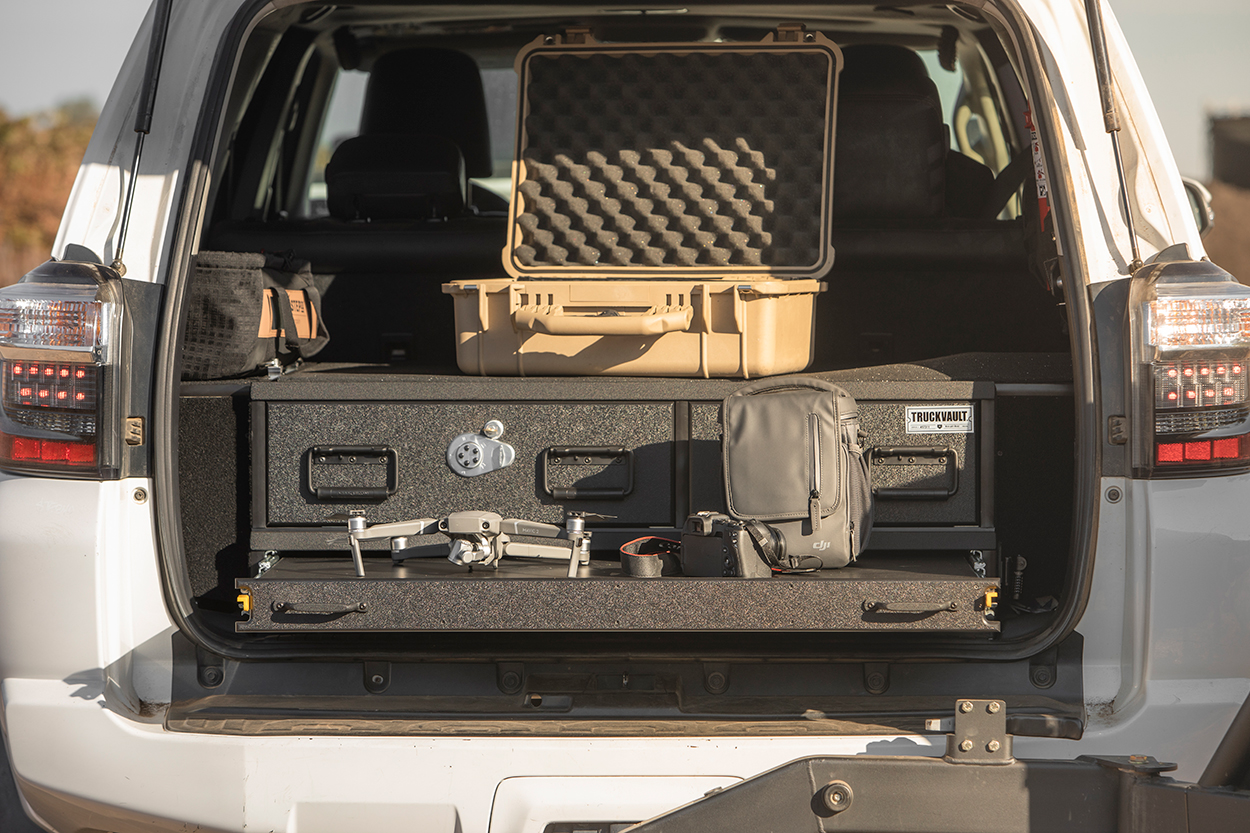 Drawer System for Photographers for Media Professionals