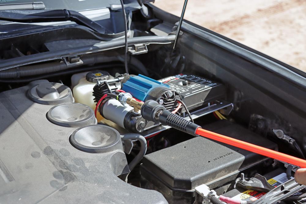 5th Gen 4Runner Arb Air Compressor and sPod