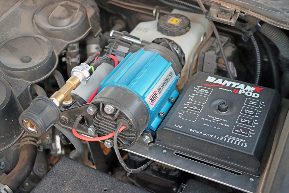 5th Gen 4Runner Powertray with Arb Air Compressor and sPod