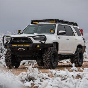 C4 Fabrication Overland Series Bumper - 5th Gen 4Runner @fearless_trd_4r/