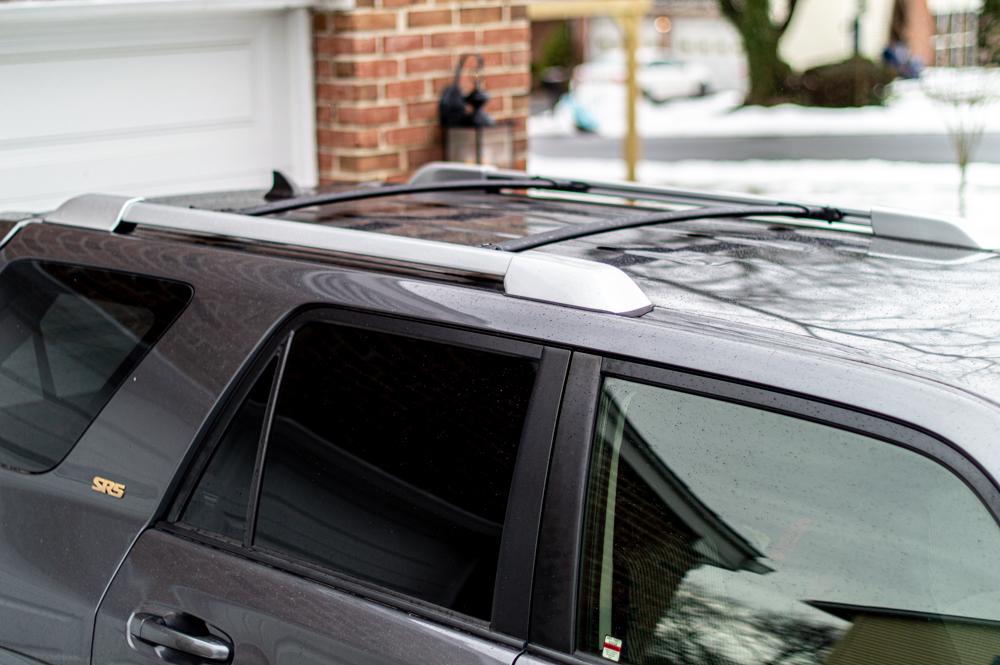 Factory Roof Rack on Toyota 4Runner