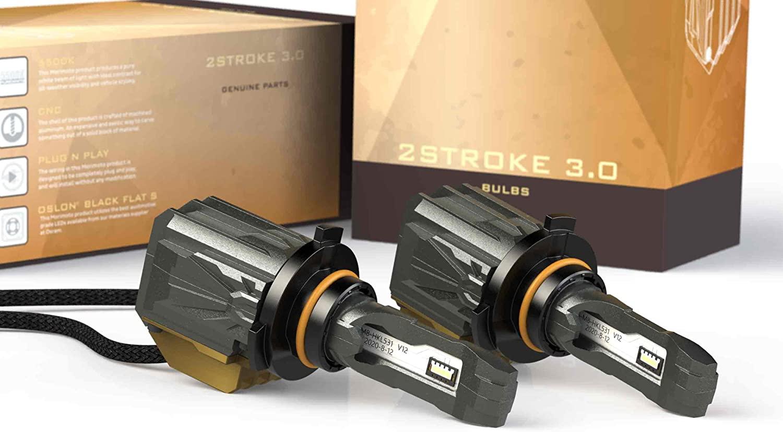 Morimoto 2Stroke 3.0 LED Low Beams or Fog Lights - 5th Gen 4Runner - 5500K White Bulbs