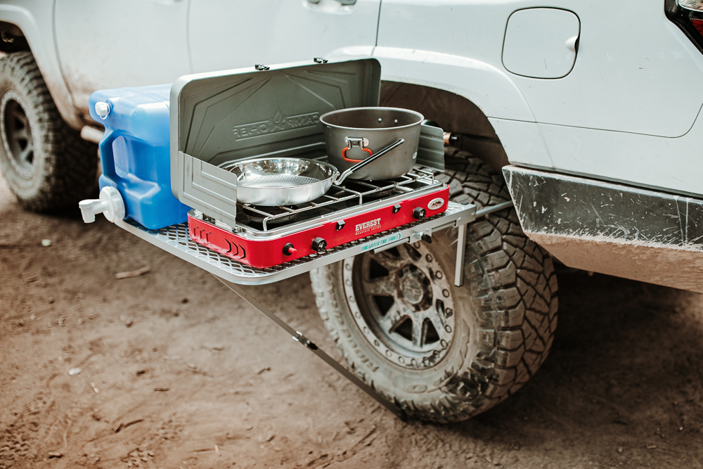 Tailgater Tire Table Overview For the 5th Gen 4Runner