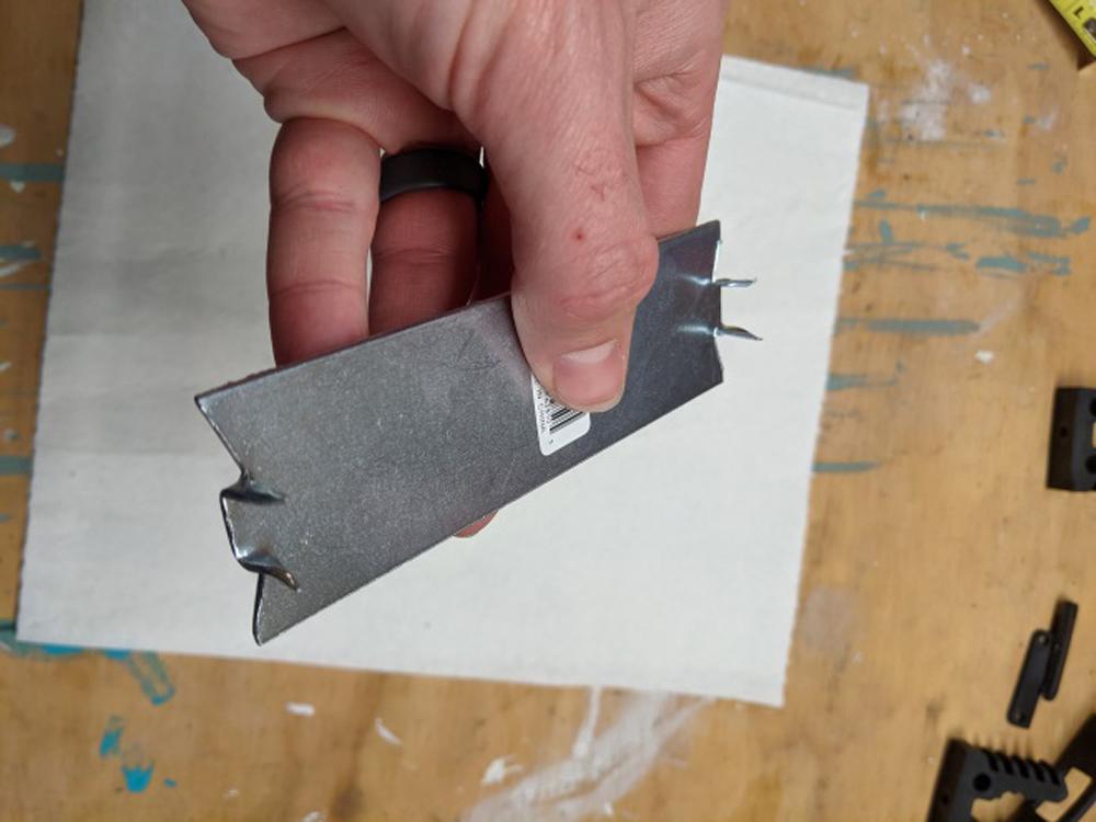 Custom Bracket for DIY Fishing Rod Holder for 5th Gen 4Runner