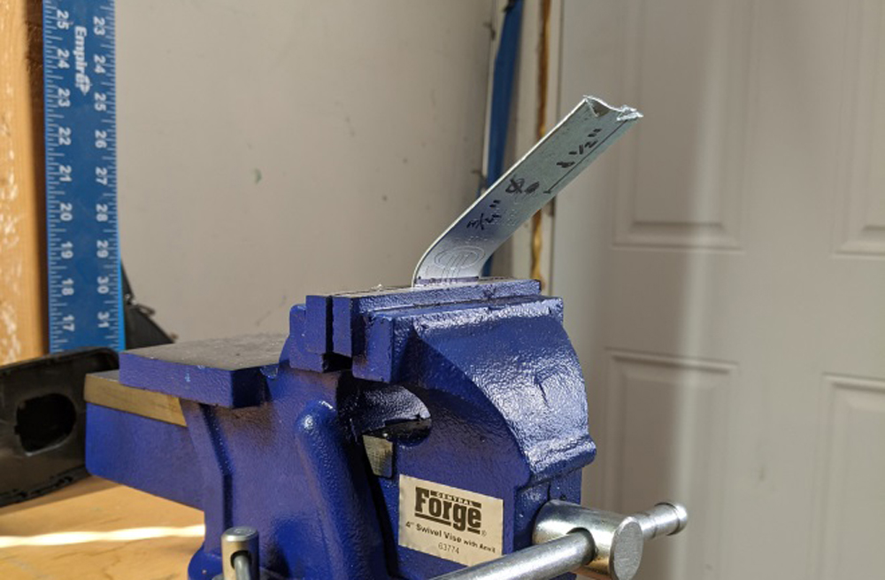 DIY Custom Bracket for Fishing Rod Holder