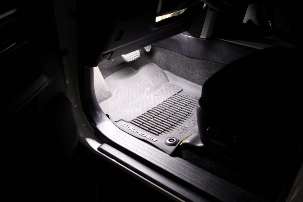 5th Gen 4Runner LED Footwell Lights