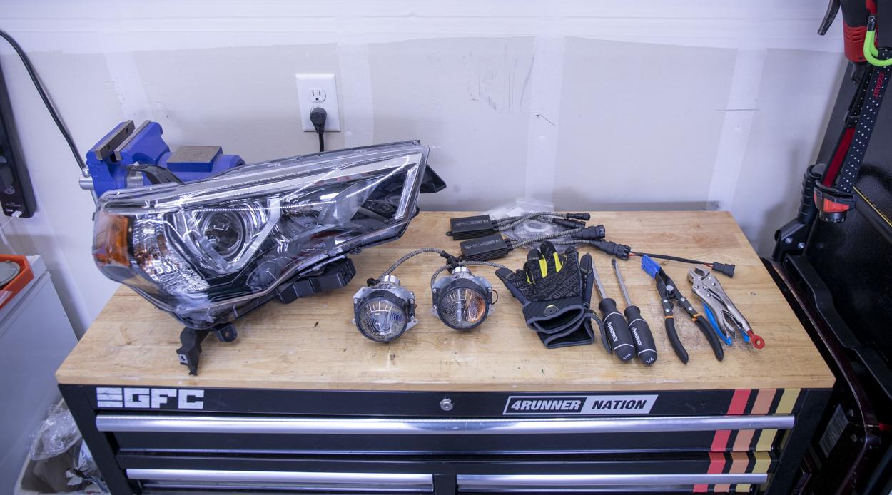 Retrofitting 4Runner Headlights - Getting Started
