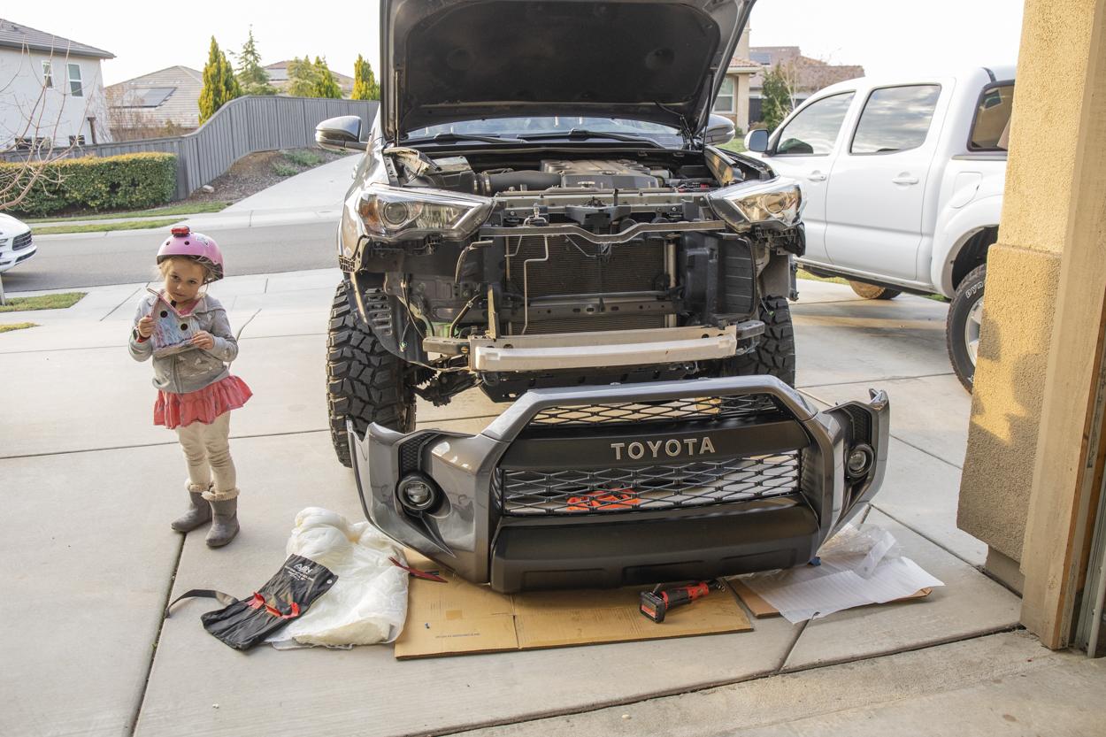 Remove Front Bumper