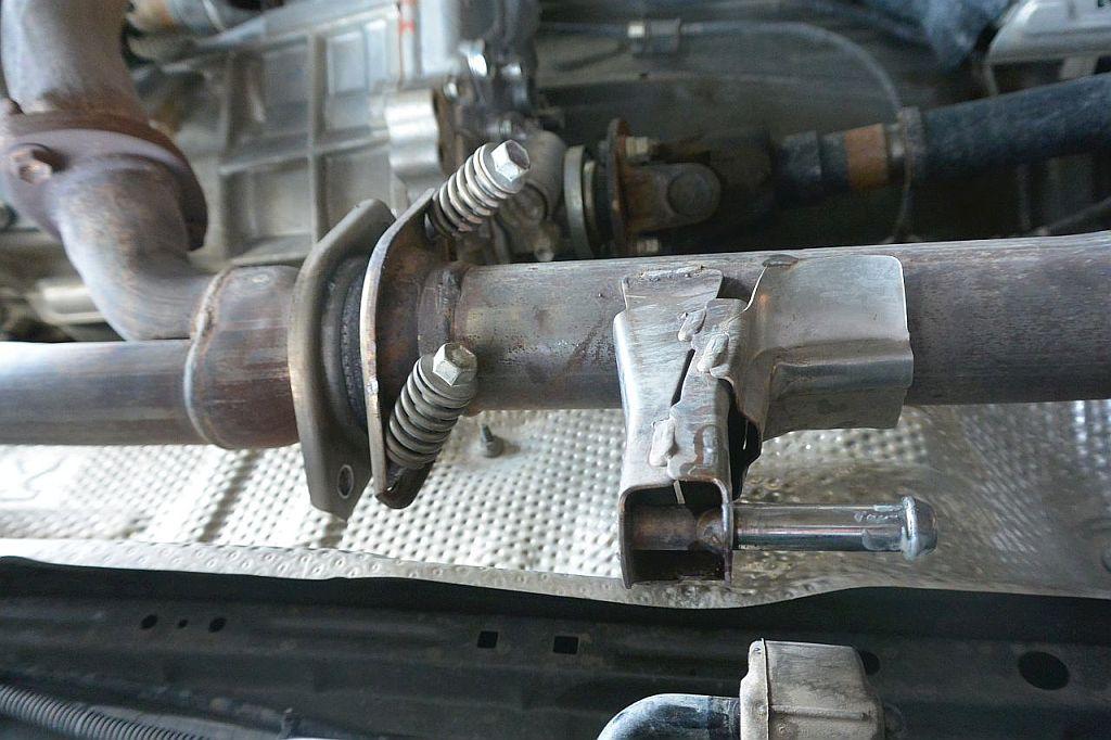 Factory Exhaust System on 5th Gen 4Runner