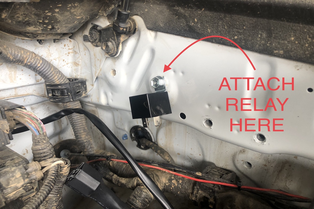 Wiring Baja Design S1 Ditch Lights to Factory Style Push Switch on 5th Gen 4Runner