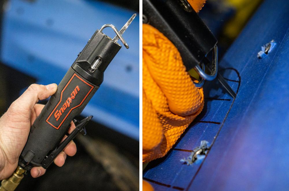 Cutting Air Hole for ARB Safari Snorkel on 5th Gen 4Runner