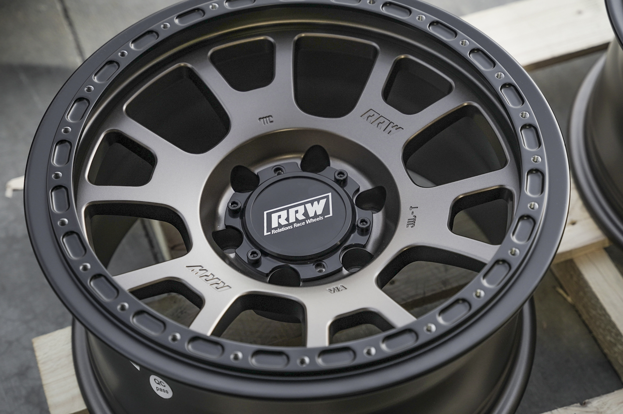"""RR5-H (Hybrid Beadlock) 17"""" Off-Road Wheels for Toyota Tacoma and 4Runner"""