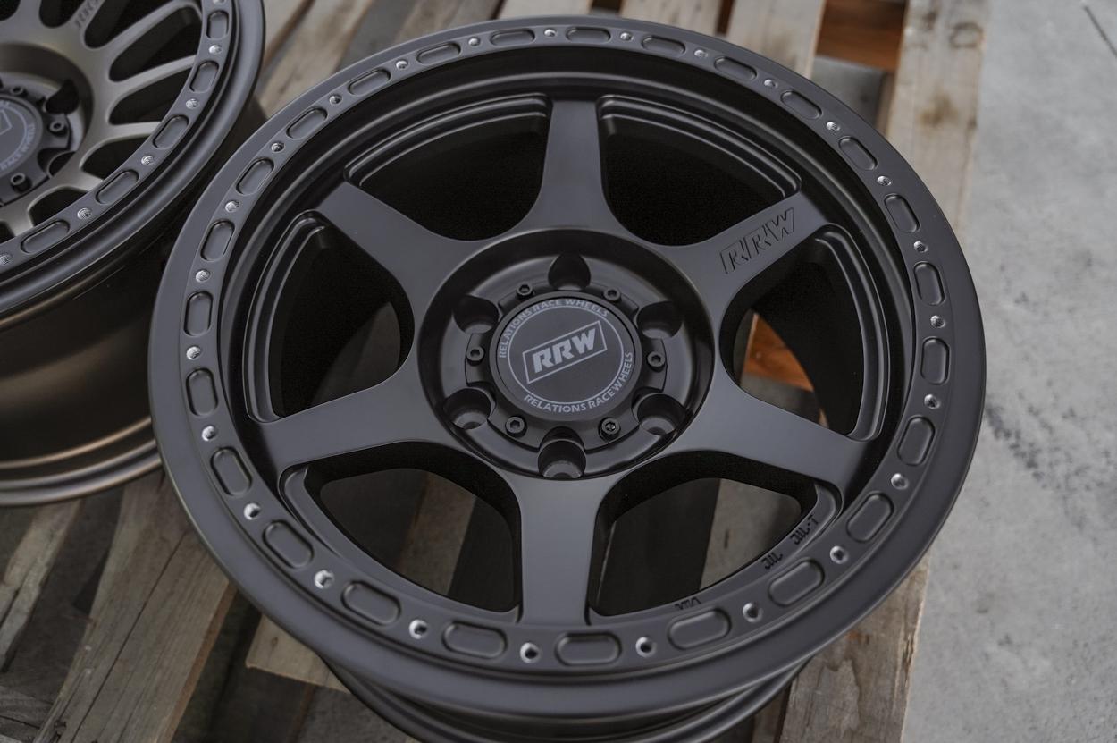 Relations Race Wheels - RR2-H (Hybrid Beadlock) Off-Road Wheels 6-Spoke