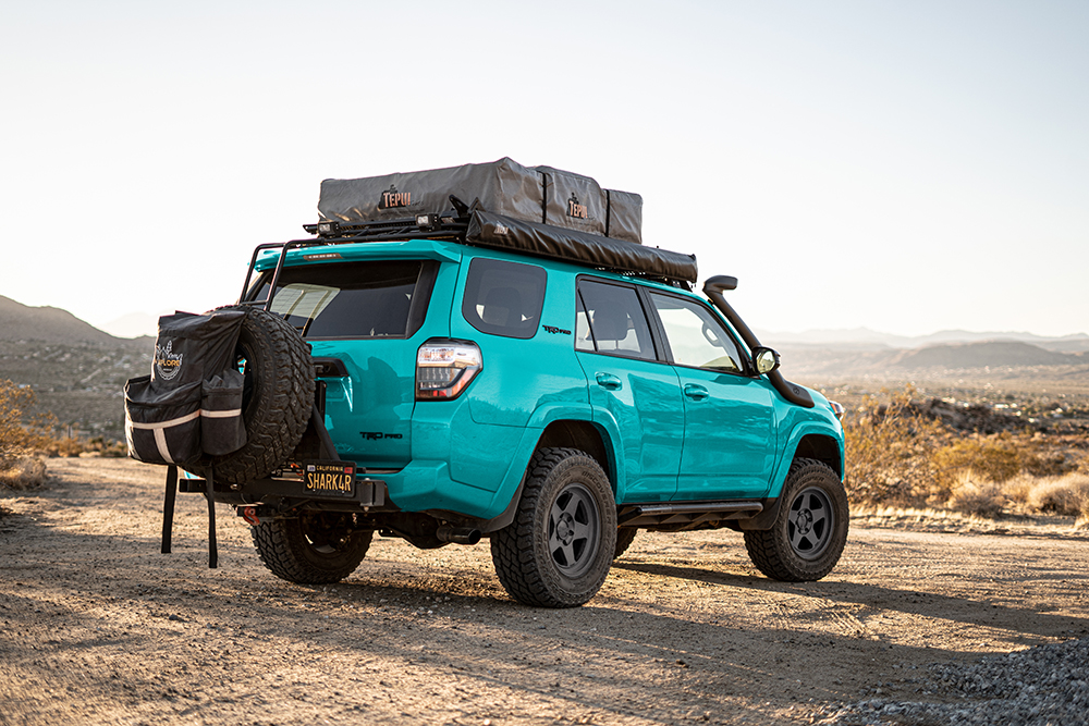TRD Pro 4Runner - Electric Teal