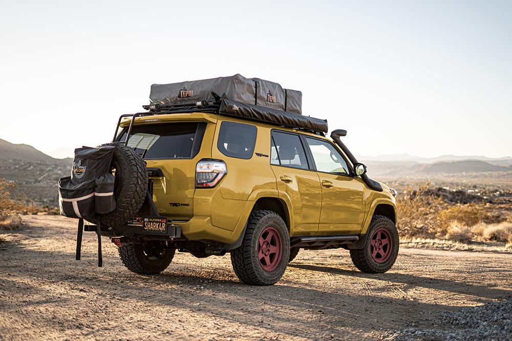 TRD Pro 4Runner - Mustard Yellow