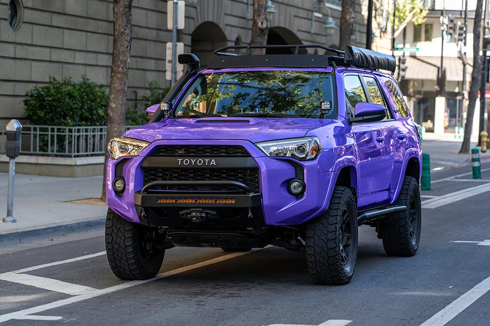 TRD Pro 4Runner - Royal Purple