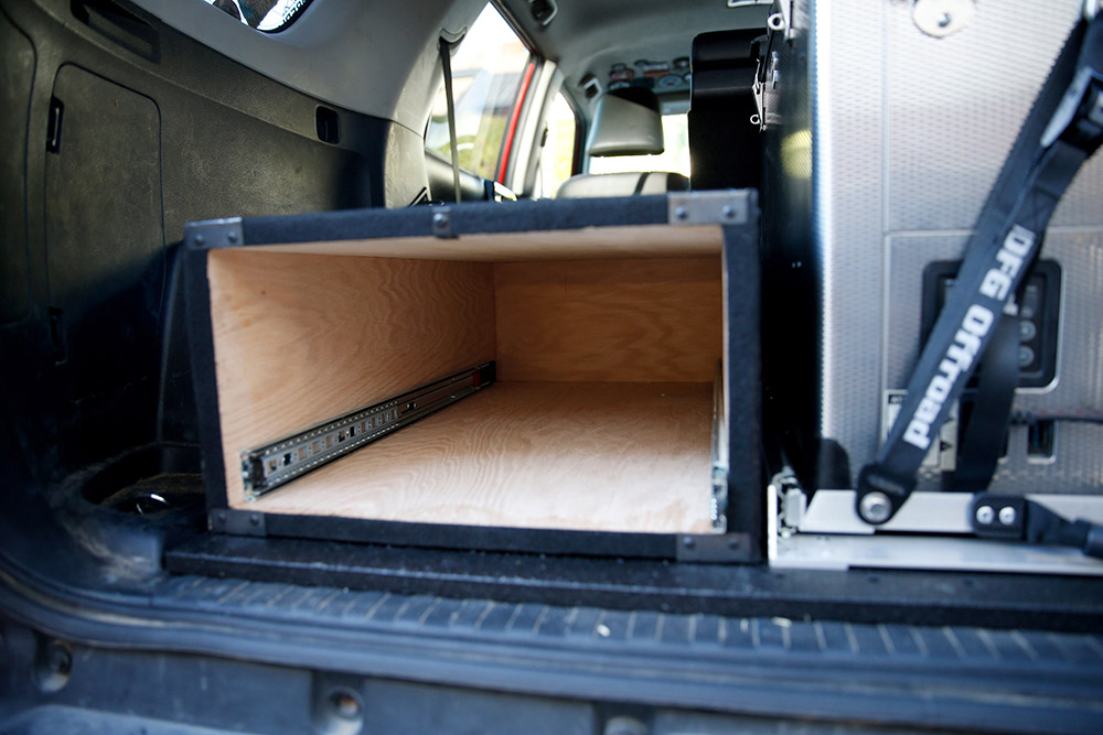 Custom Made Drawer System for Overlanding, and Off-Roading