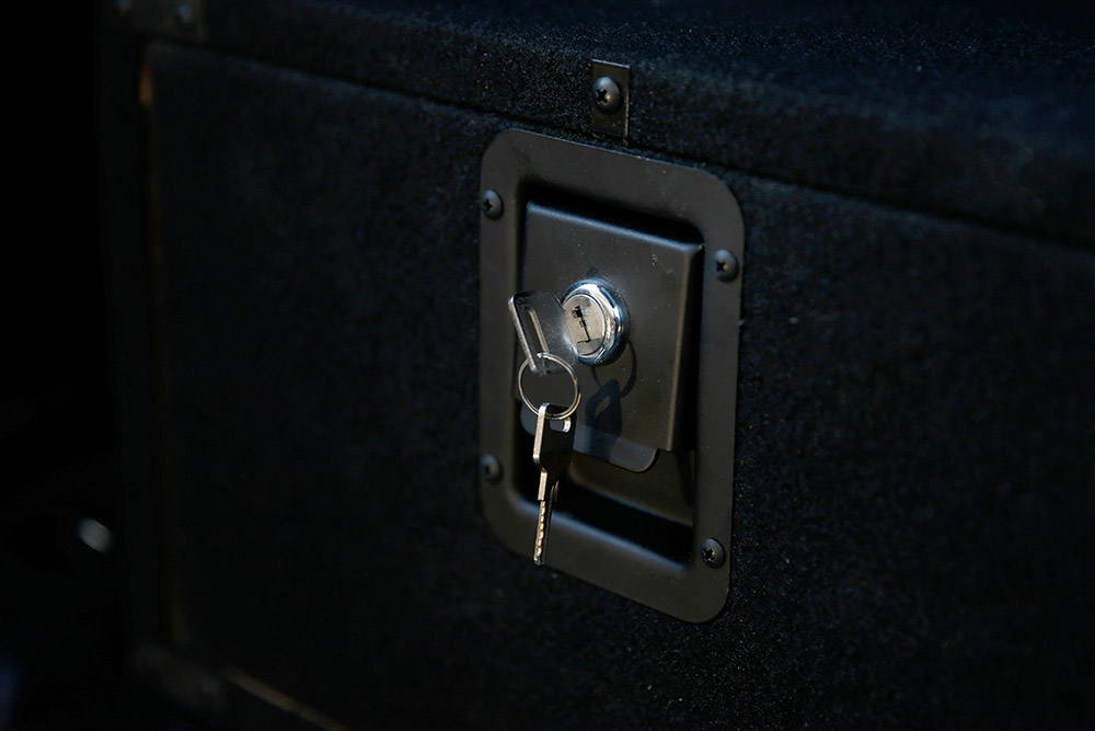 Custom Made Drawer System for Overlanding with Lock