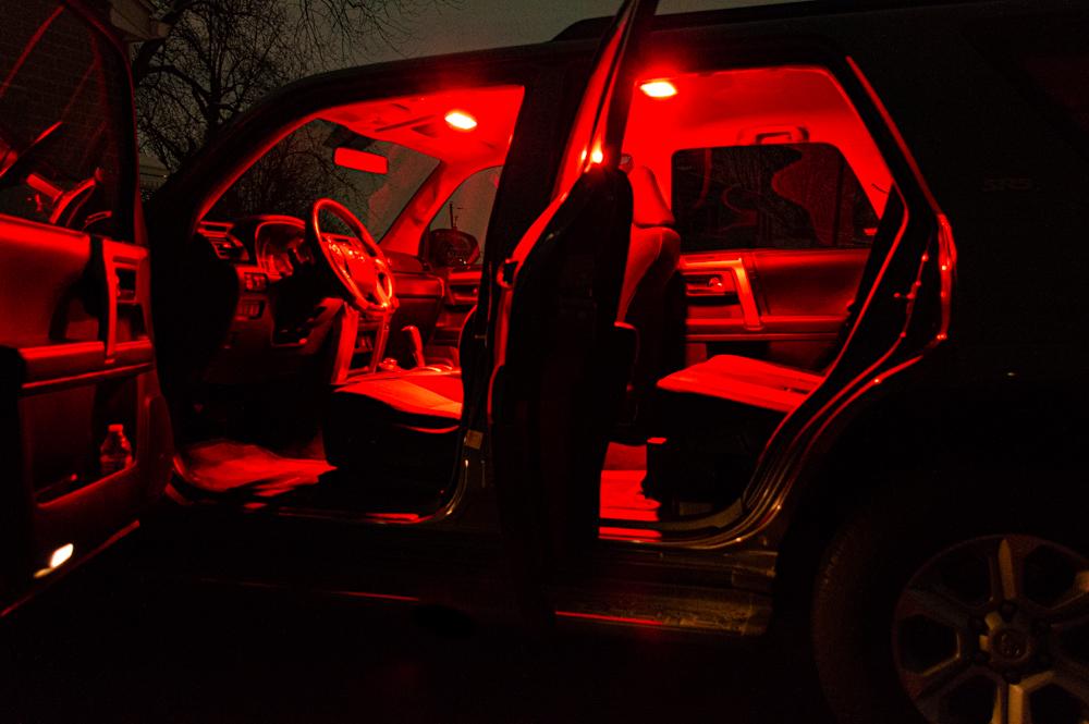 5th Gen 4Runner Rear Hatch Lights Cover Removal