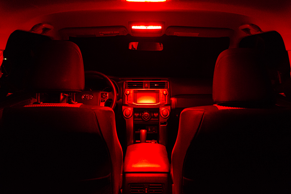 5th Gen 4Runner Dual Function Red LED Interior Lights