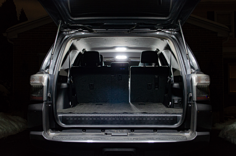 5th Gen 4Runner Full Interior LED Lighting