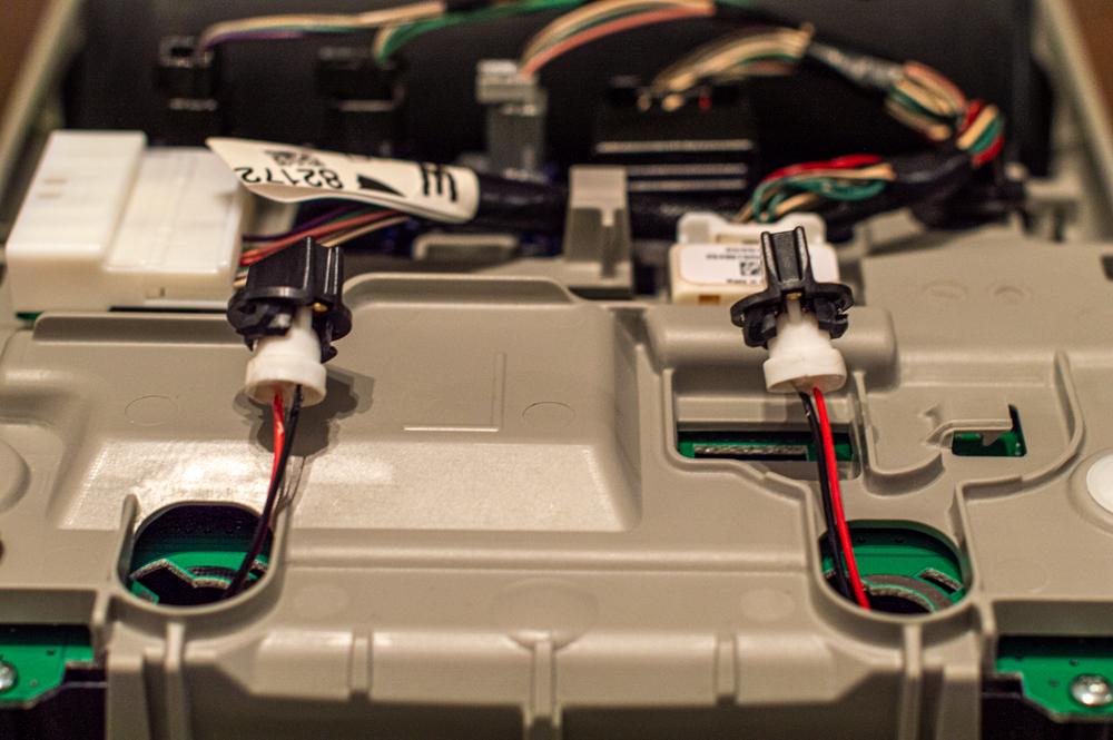 5th Gen 4Runner Map Light Reflector LED Light Harness Install
