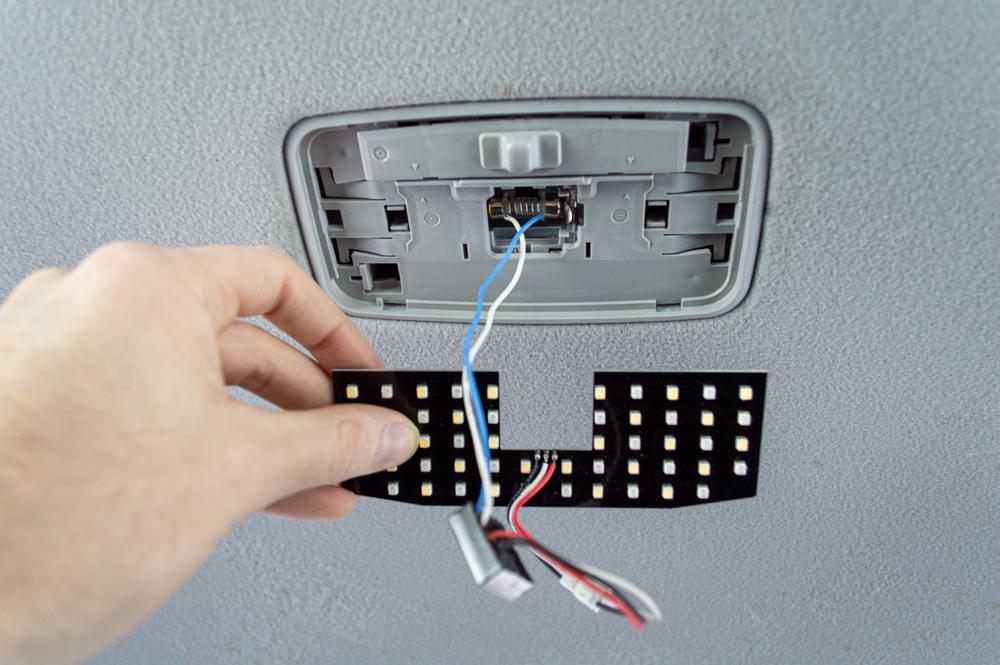 5th Gen 4Runner Dome Light LED Board Install