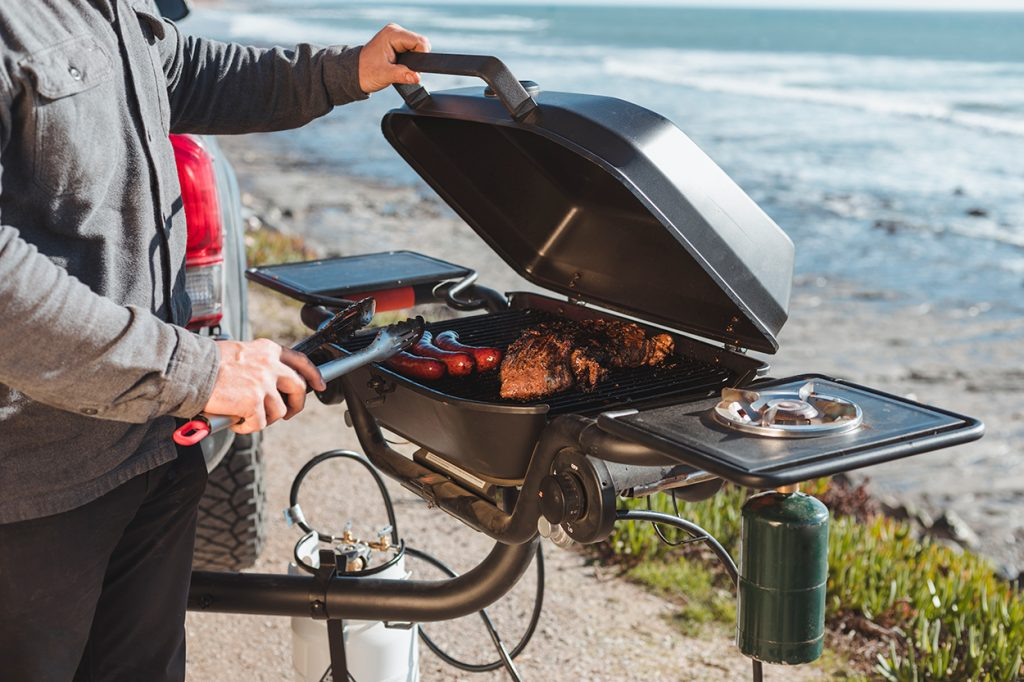 Cooking Options with the HItchfire Grill