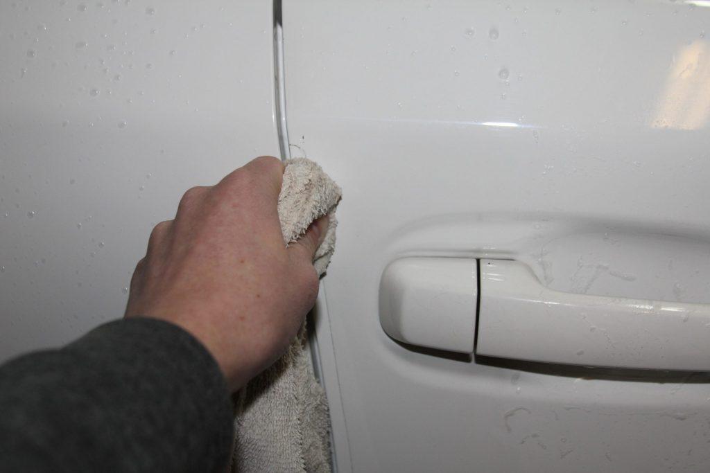 5th Gen 4Runner Lamin-X Door Trim Protection Surface Prep
