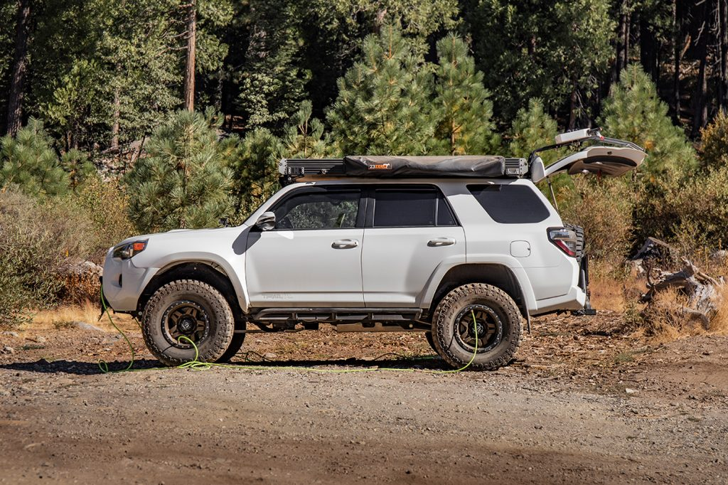 """Overland Equipped 4Runner on 35"""" Tires"""