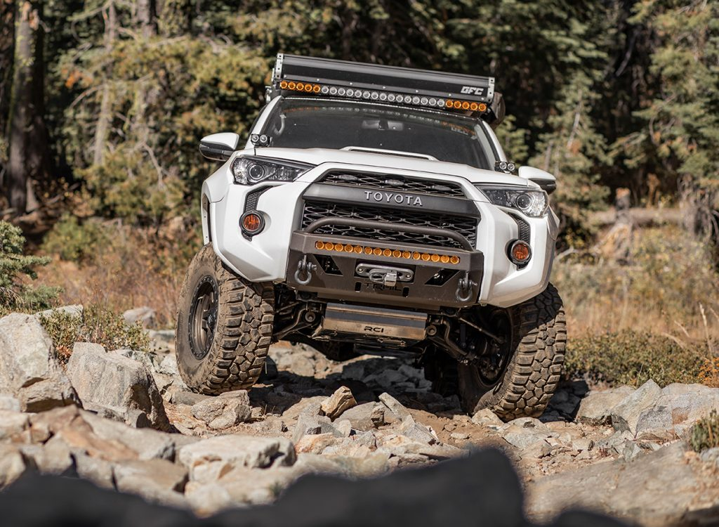 Cooper EVO M/T Tires on the Rocks with 5th Gen 4Runner