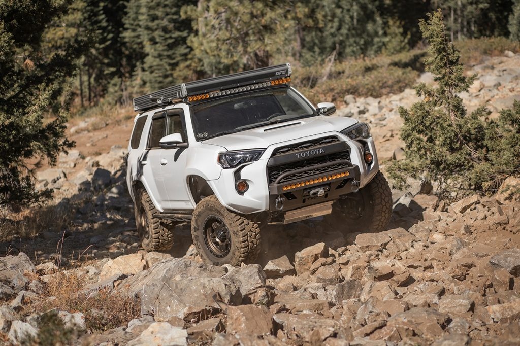 C4 Fabrication Low Profile Bumper for the 5th Generation 4Runner
