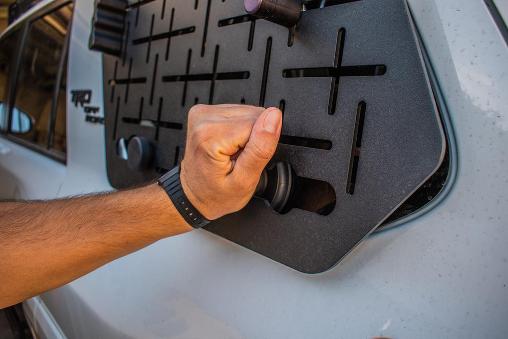 SLAPS (Side Load Access Panel v2) by JOE's Original Equipment:Install & Mounting Options For the 4th and 5th Gen 4Runner