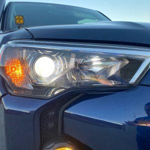 Toyota 4Runner Headlight Bulb Install
